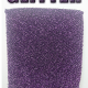 purple glitter can coolie