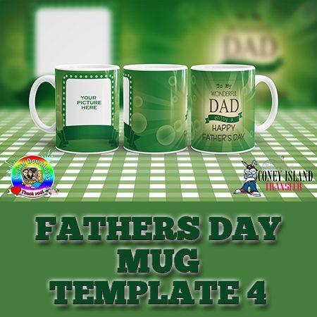 father's day mug template