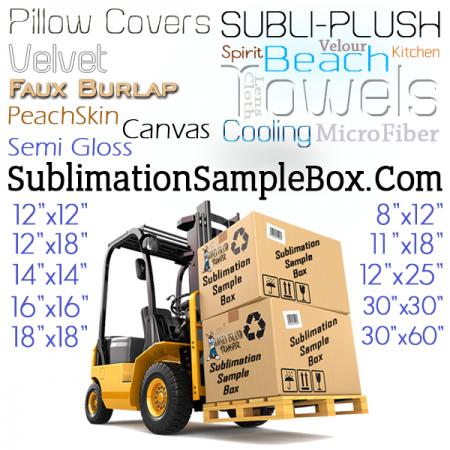 Pillow Cover Sample Packs