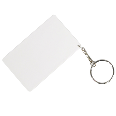 Credit Card Polymer Keychain